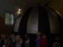 Sférické kono -mobilní planetárium