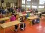 Ukázková hodina u prvňáčků v ZŠ Běloves