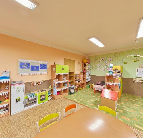 Virtuální prohlídka interiéru třídy Medvídci